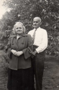 Grandparents - Edward Karn and Charlotte Meyer Karn